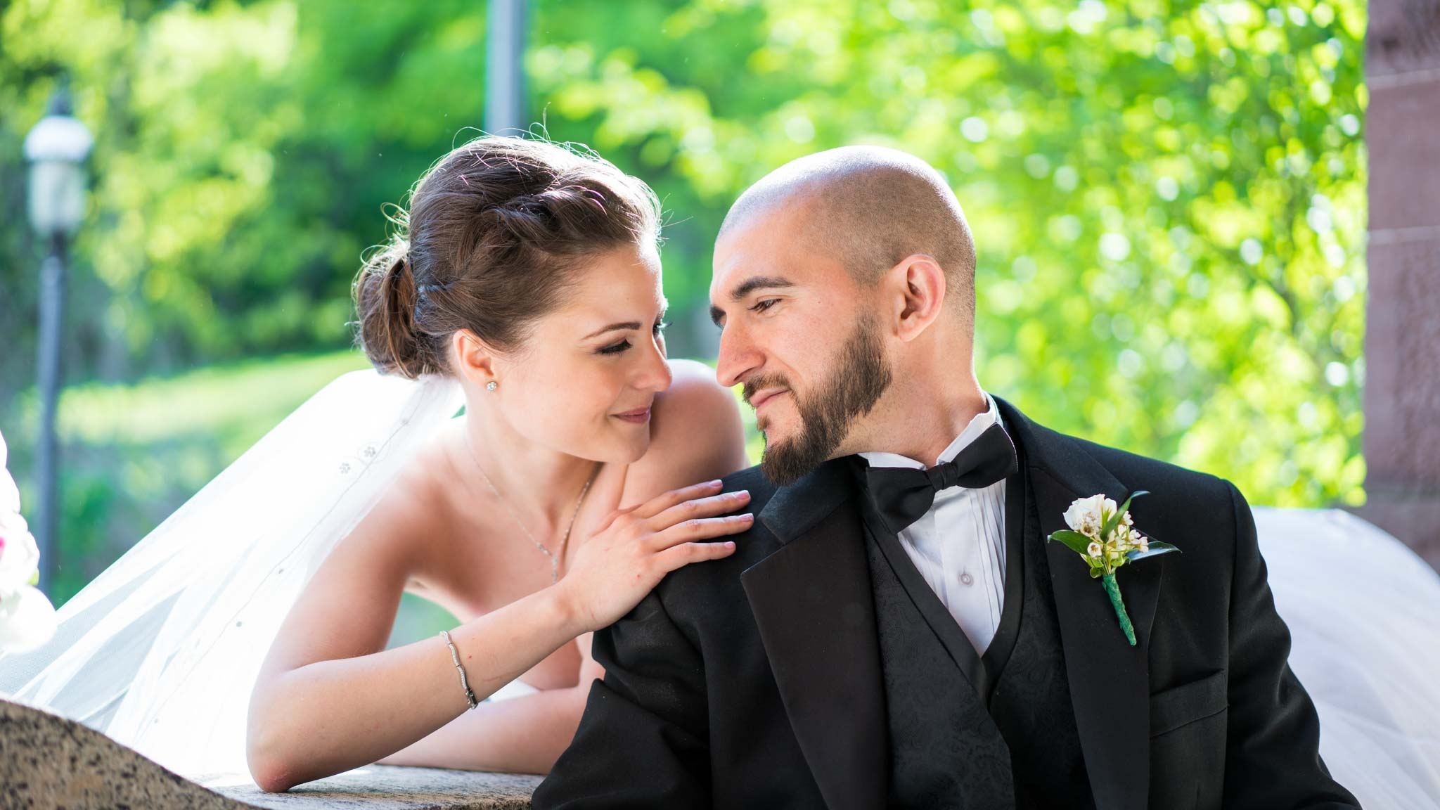 Circassian Wedding Couple Bride Groom Lambert Castle Paterson NJ