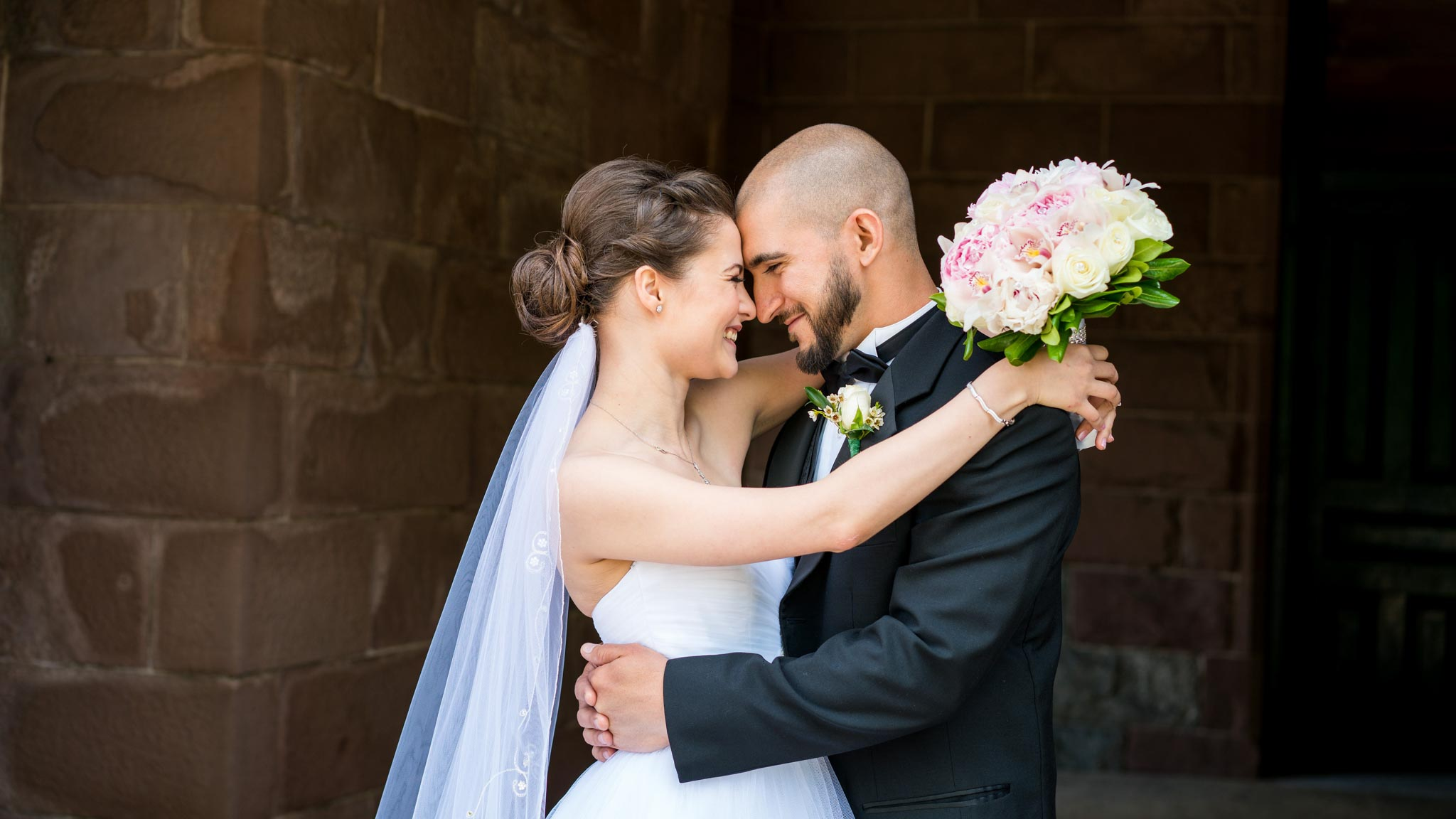 Circassian Wedding Couple at Lambert Castle NJ